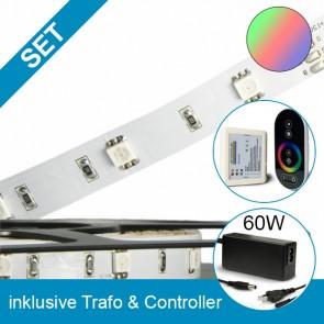 SET STD-Flexband + 60W Trafo + RGB Controller-39263