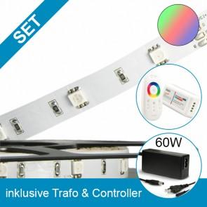 SET STD-Flexband + 60W Trafo + RGB Controller-39265