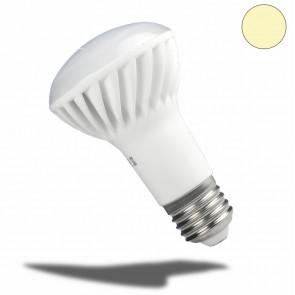 E27 R63 LED-Strahler Keramik, 7 Watt, warmweiss, frosted-32992