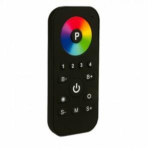 Easy-Zone RGB Funk-Fernbedienung mit Farbrad, schwarz-matt, 4 Zonen-34869