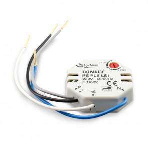 Universal-Dimmschalter für 12V und 230V LED Leuchtmittel-35449
