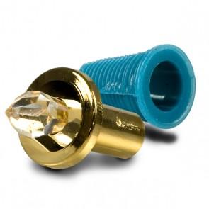 Kristall KLEIN GOLD inkl. Dübel und Delrine-32652