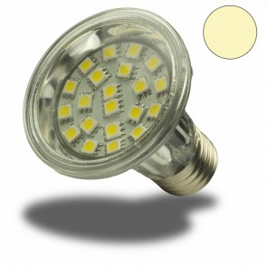 LED Spotlight E27 PAR20 21SMD warmweiss-31027