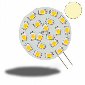G4 LED 21SMD, 3W, warmweiss, Pin seitlich-32979