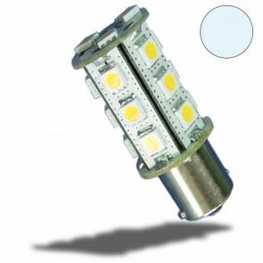 LED BA15S Leuchtmittel, 10-30V/DC, 18SMD 2,5 Watt, kaltweiß-32497