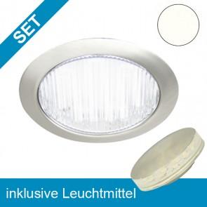 LED Einbauleuchte rund mit wechselbarem GX53 Leuchtmittel 3,5W-39233
