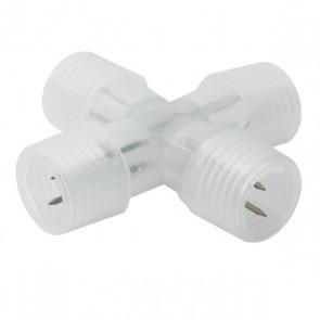 X-Verbinder für Lichtschlauch rund 13mm-33441
