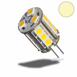G4 Stiftsockellampe 12V, 18 Leds , 2,5W, warmweiss-32459