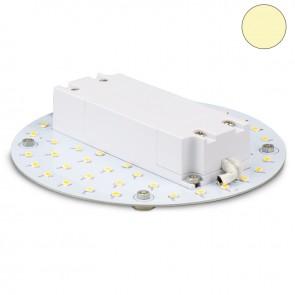 LED Umrüstplatine 130mm, 9W, mit Magnet, warmweiß-35351